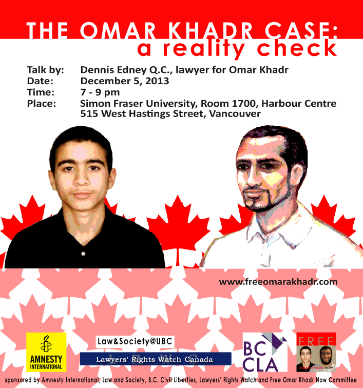"essay on omar khadr ""omar khadr is a canadian citizen and a child soldier whose rights have been  summarily denied, despite international law"" -- dr samantha."