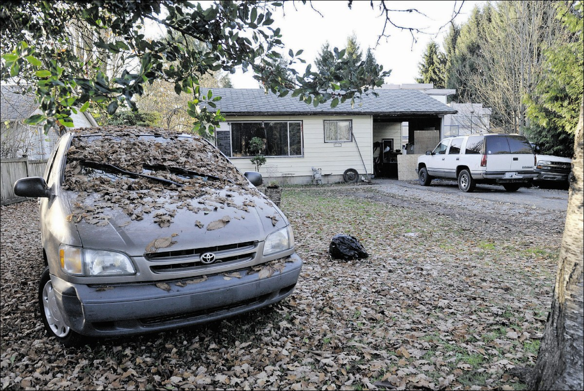 Police went to this house in the 12000-block of 228 Street in Maple Ridge three times in three months, according to court documents. The rental property is now the focus of an action by B.C.'s Director of Civil Forfeiture. Photograph by: Arlen Redekop, PNG , The Province