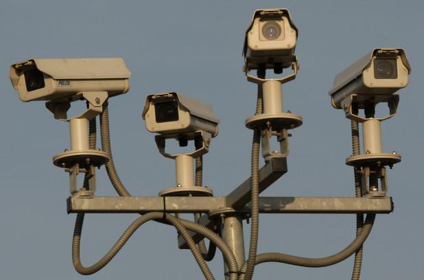 Surveillance cameras in London, England. -  Getty Images/Oli Scarff