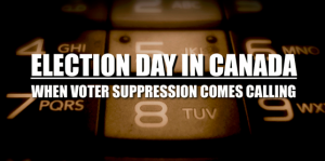 Election Day in Canada