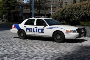 Vancouver police cruiser