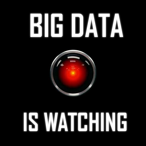 Big Data Is Watching by carl9180,  under a Creative Commons License