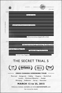 The Secret Trial 5 poster