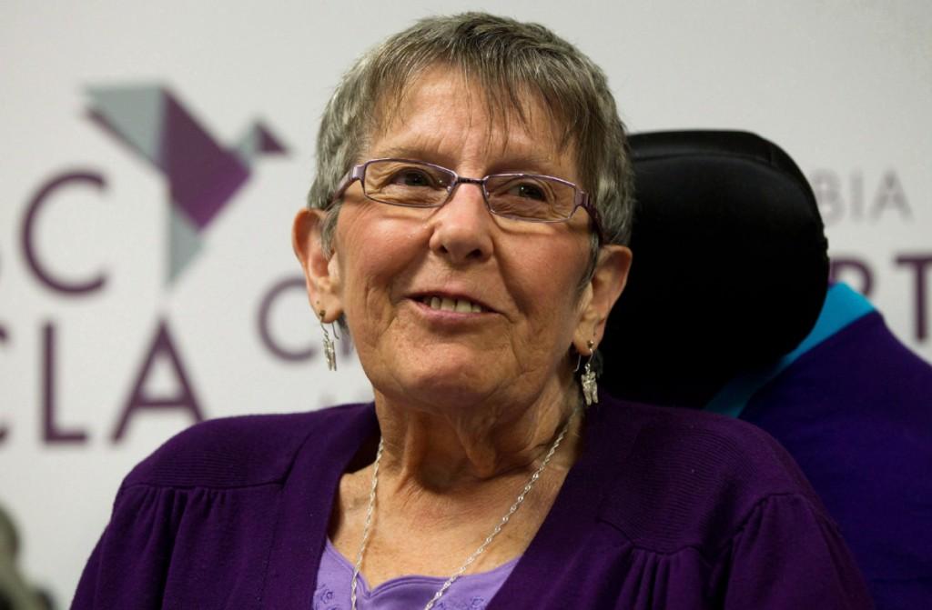 Gloria Taylor in June 2012