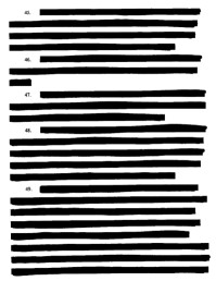 Redacted document - in public domain from ACLU