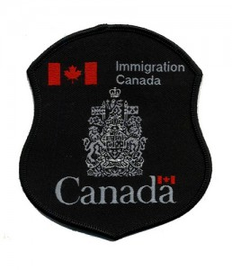 Canada Immigration Officer Badge. Image credit: Flickr user Dave Conner, Creative Commons License 2.0.