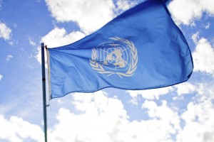 United Nations flag by Flickr user sanjitbakshi Creative Commons 2.0