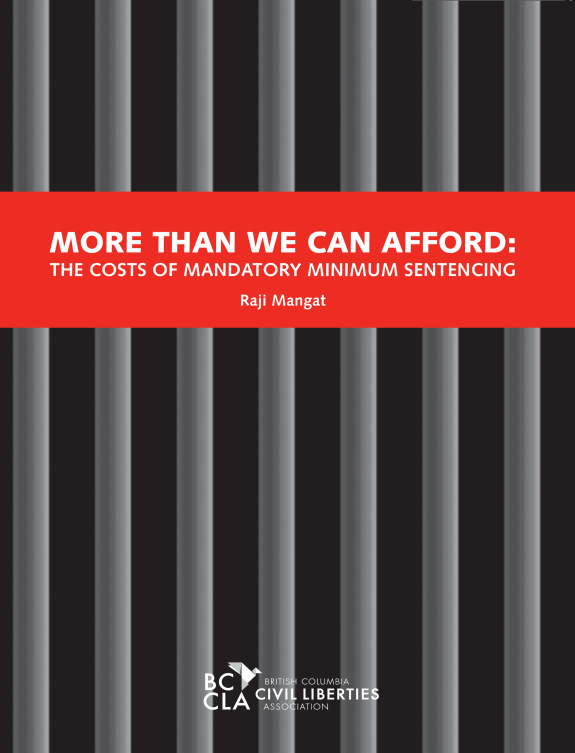 More Than We Can Afford: The Costs of Mandatory Minimum Sentencing