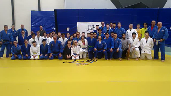 Police Judo session at SFU
