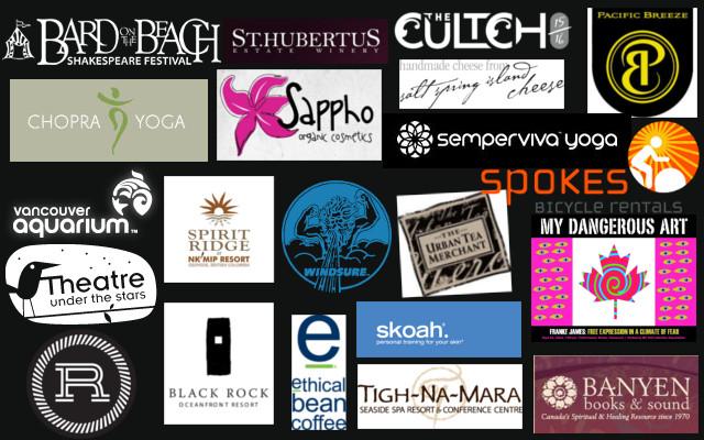 All raffle sponsor logos