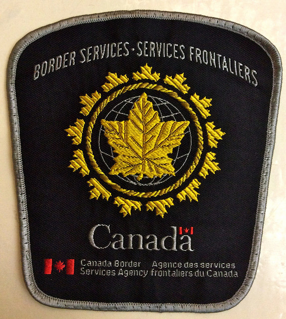 CBSA badge. Photo credit: antefixus21 via Flickr